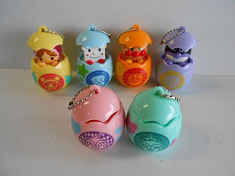 ! Soreike Anpanman exciting egg all six egg shells: all six 1 Anpanman 2 Baikinman 3 eating