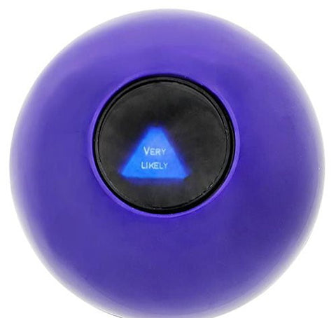 (USA Warehouse) MAGIC ORB BALL EIGHT 8 BALL ANSWERS QUESTIONS PARTY GAME GIFT CARNIVAL TOYITEM#NO: 43E8E-UFE6 C2A20426