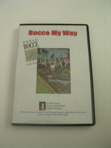 """Bocce My Way"" DVD"