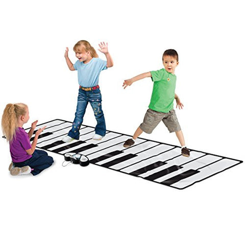 "Best Choice Products 100"" Super Gigantic Musical Electronic Keyboard Piano Playmat With Builtin Amplifier MP3 Plug In"