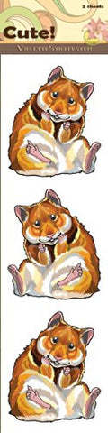 """Cute!"" Hamster Stickers"