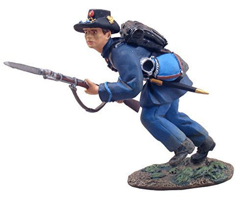"""Union Infantry Iron Brigade Charging No.1"" - W. Britain - Metal Minature Figure"