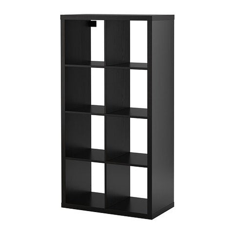 Ikea Shelf unit, black brown 626.231726.3422