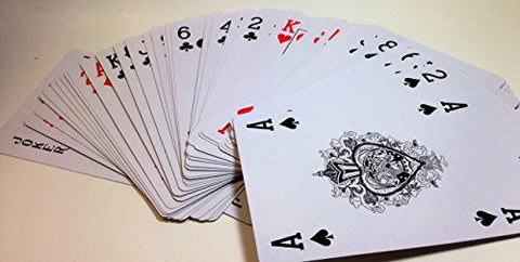 "(Pack of 3) Oversized Playing Cards 7 1/2"" x 5"""