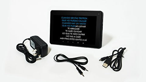 4000 Song Karaoke RCA Android Tablet