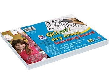 * GOWRITE DRY ERASE LEARNING BOARDS