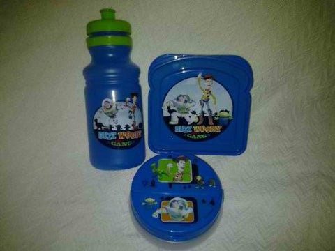 """Toy Story""..3pc Lunch Set(1-sandiwch Box, 1-snack Cointainer, 1-jug or Bottle Water)...!!!"