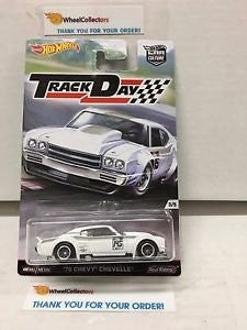 '70 Chevy Chevelle TRACK DAYS Car Culture Case D 2016 Hot Wheels