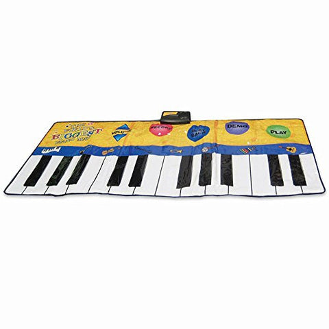 (Set) World's Biggest Piano Mat w/ 8 Different Instrument Sounds & Batteries