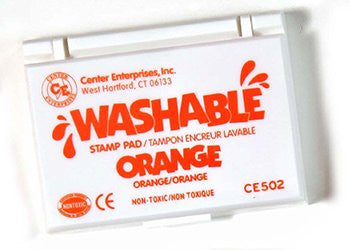 * STAMP PAD WASHABLE ORANGE