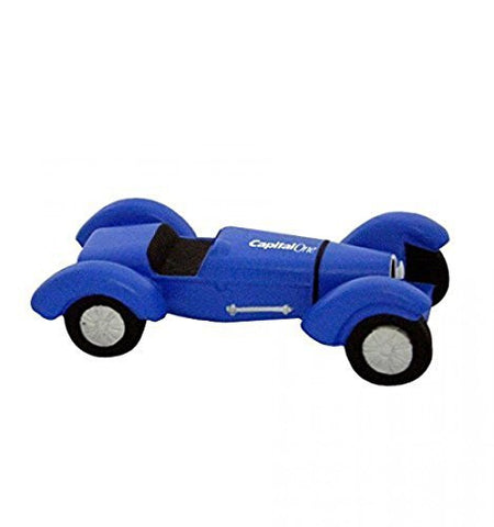 1920's Indy Style Race Car Stress Reliever - Blue