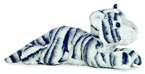 "Aurora World Flopsie 12"" King The White Tiger"
