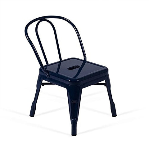 AEON Furniture Clarise Children's Chair in Navy (Set of 2)
