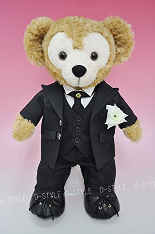 """Duffy style"" original TM S size 43cm Duffy Sherry Mae stuffed in perfect clothes TM wedding suit Black D398A"