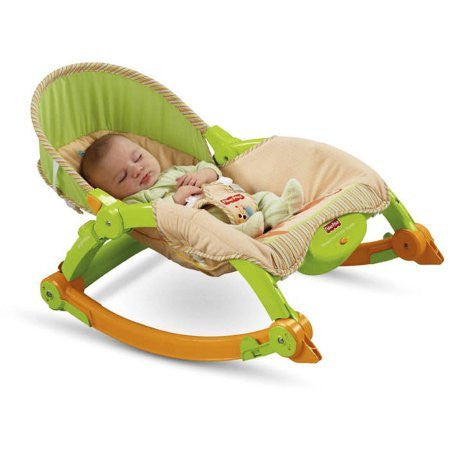 100% NA Fabric Content Fisher-Price - Newborn to Toddler Portable Rocker