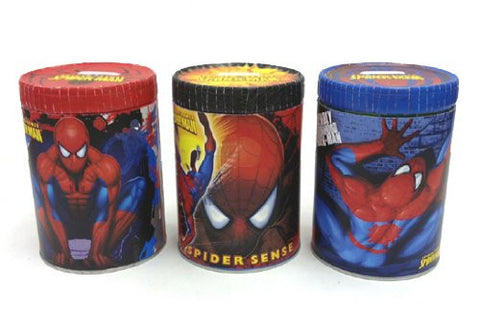 1 - SPIDERMAN TIN BANK