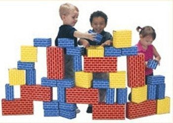 * IMAGIBRICKS GIANT BUILDING 40PC SET