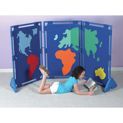3 Piece World Play Panel Set