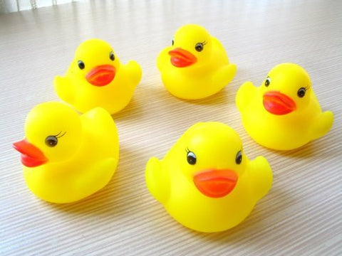 (Here) COCO Kitchen Bathing sound and sound of smth. Floating press yellow duck Five brothers are! (13-4)
