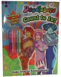 """Doodlebops"" - count to 10 - coloring book. (Sold by 1 pack of 36 items)"