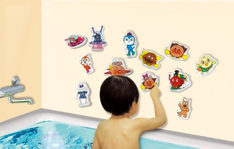 (Set can not be selected) Anpanman 5 pieces set suddenly in Anpanman bath (japan import)