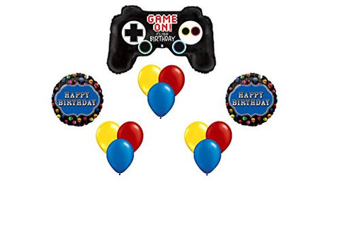 """Happy Birthday"" Gamer Balloon Bouquet"