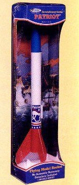 #0730 Estes Revolutionary Series Patriot Flying Model Rocket Kit