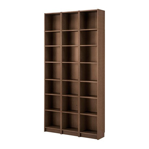 Ikea Bookcase, brown ash veneer 6204.171729.66
