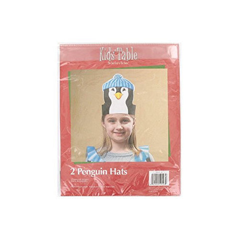"""Holiday Fun Penguin Hats, Pack Of 2"""