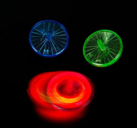 "1.75"" LIGHT UP SPIN TOP, Case of 504"