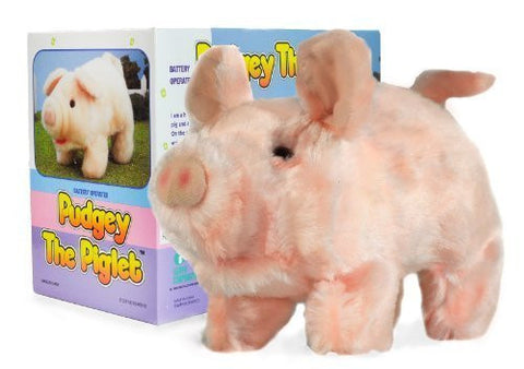 """Pudgey Piglet"" The Walking, Oinking, Baby Pig"