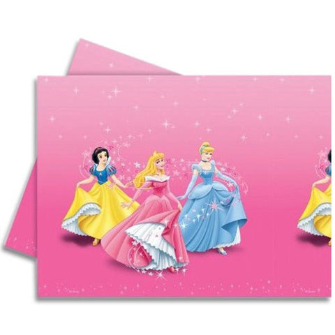 1.2m X 1.8m Disney Princess Party Disposable Plastic Table Cover .