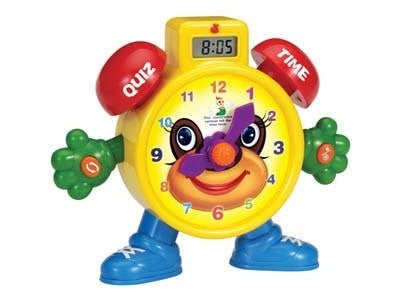 """Tell The Time"" Electronic Learning Teach Time Clock Educational Toy for Kids"