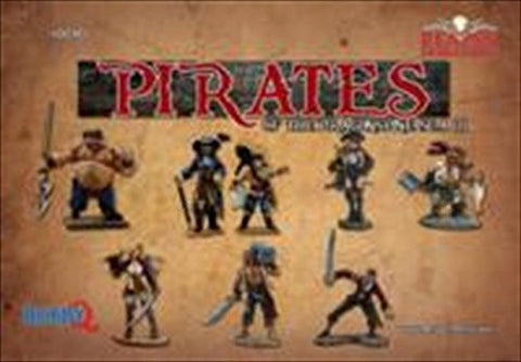 10040 Pirates of the box set of the Grim Reaper miniature Dragonspine Sea Iii