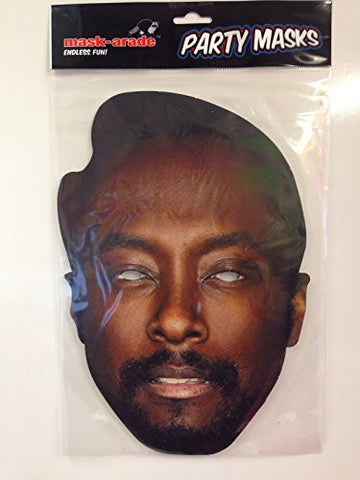 'The Voice' Mask Pack- 3 Masks- Will.i.am, Kylie Minogue, Tom Jones