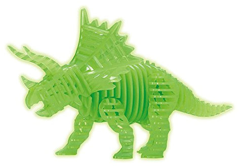 12 piece slice puzzle shining Triceratops