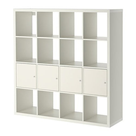 Ikea Shelf unit with 4 inserts, white 8202.52314.3426
