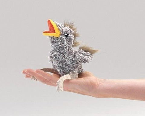(Ship from USA) MINI BABY BIRD Finger Puppet WITH SOUND 2758 ~ Free Ship/USA FOLKMANIS PUPPETS -ITEM#: G15/uiF982A31307