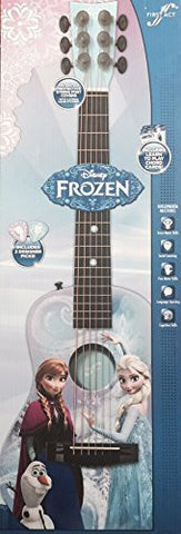 """Frozen"" Acoustic Guitar FR735 for Stage 3 (""Curious Composers"") with 2 Designer Picks & Learn to Play Chords Cards"