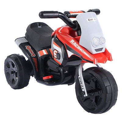 6V Kids Ride On Motorcycle Battery Powered 3 Wheel Bicyle Electric Toy New