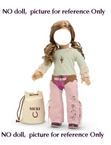 """Nicki's Ranch Outfit"" for 18"" American Girl doll"