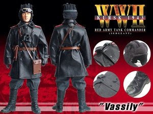 """Vassily"", Sergeant, Red Army Tank Commander, WW2 Kursk 1943, 12"" 1/6 Scale Action Figure by Dragon Models, #70210"