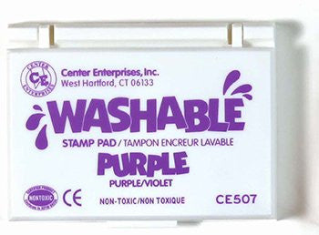 * STAMP PAD WASHABLE PURPLE