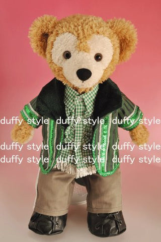 """Duffy style"" S size 43cm Duffy Sherry in Mae stuffed perfect clothes TM popular idol green jacket dress-up costume costume D425A"