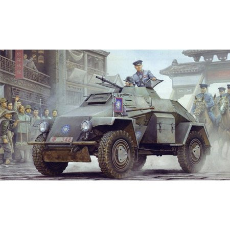 1/35 SdKfz 221 Chinese Army Lt Armored Recon Veh