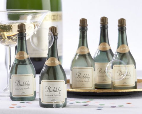"""Bubbly"" Champagne Bubbles (Set of 24) - Baby Shower Gifts & Wedding Favors"