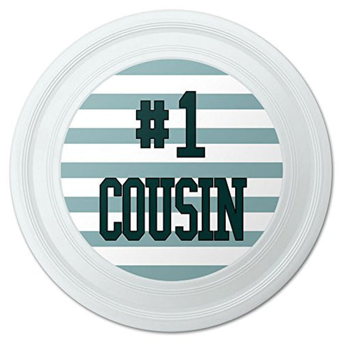 "#1 Cousin Number One Favorite Novelty 9"" Flying Disc"