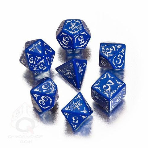 (Ship from USA) Q-Workshop: Pathfinder Second Darkness Dice Set (7) /ITEM#H3NG UE-EW23D183311
