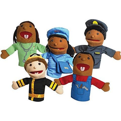 Career Puppets - Set of 5