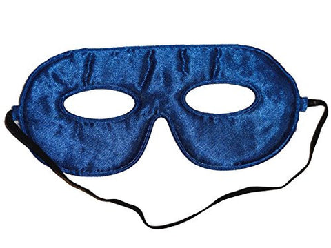 10 Abracadabrazoo Superhero Satin Blue Masks